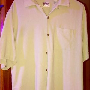 Vintage Silk Circo 1969 Button up Shirt Size L